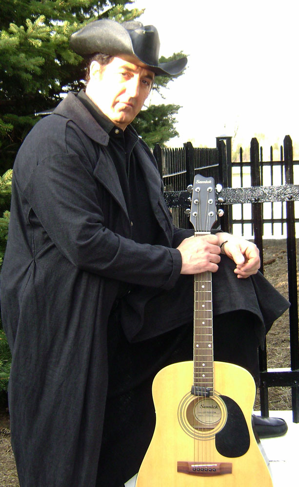 John as Johnny Cash